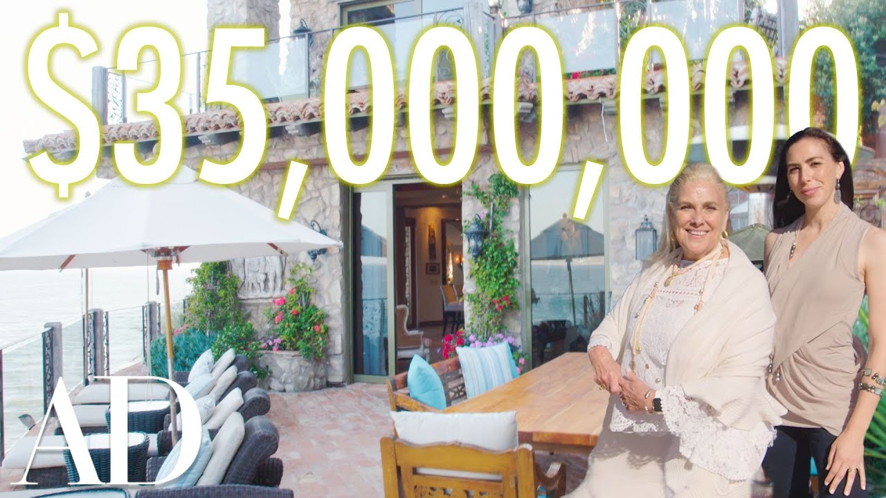 Како изгледа дом од 35 милиони долари во Малибу со две приватни плажи?
