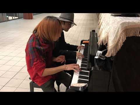 駅にあるピアノでSpainを弾いていたら菊池亮太さんが通りかかり…!?!【streetpiano】