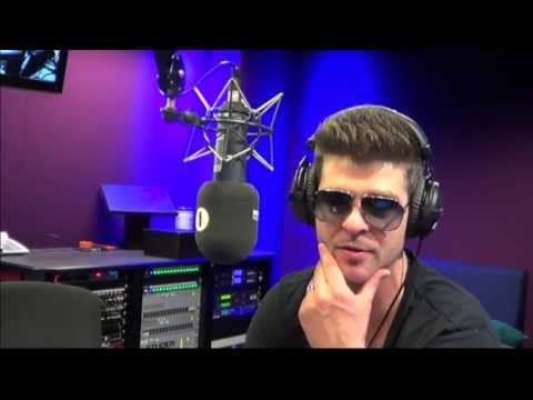Robin Thicke chats to Greg