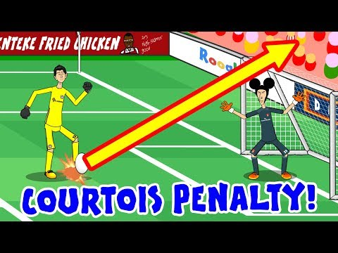🚀⚽COURTOIS PENALTY! Arsenal beat Chelsea! (Community Shield 2017 Screw You Chelsea Parody)
