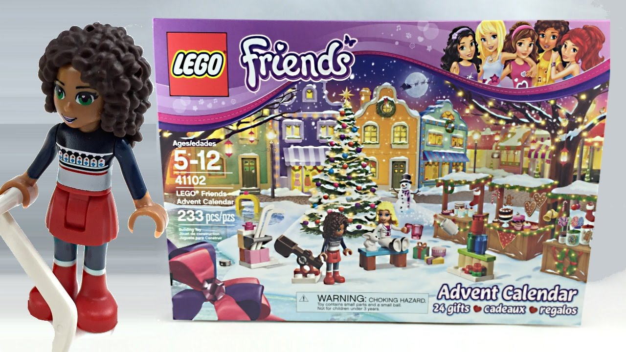 Lego Friends Christmas Sets.Lego Friends 2015 Advent Calendar Review 41102