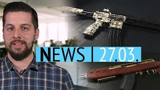 PUBG gets weapon skins - New Fortnite record on Twitch - News