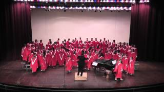 Austin (MN) High School Concert Choir - Mojuba and Red, Red Rose - Fall Concert 2012