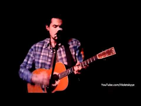 """John Mayer LIVE ACOUSTIC """"Slow Dancing In A Burning Room"""" Hotel Cafe 1/8/11"""