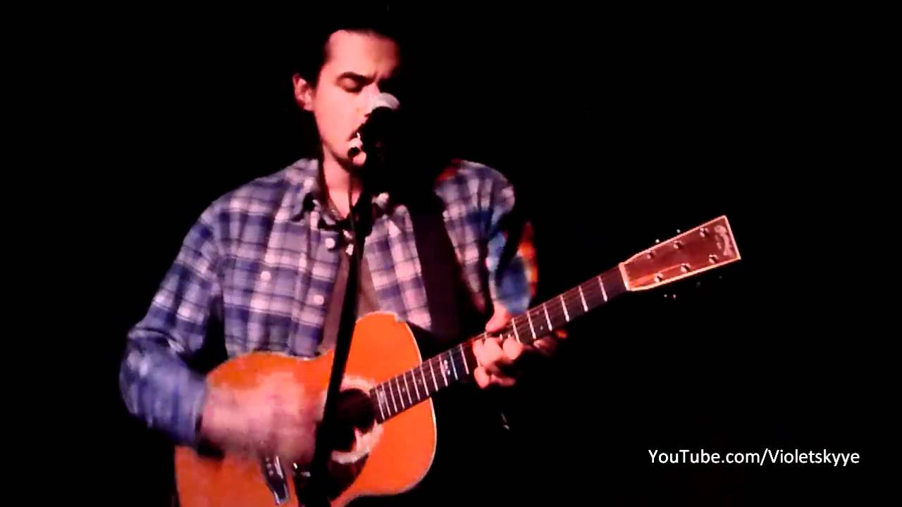 John Mayer LIVE ACOUSTIC Slow Dancing In A Burning Room Hotel Cafe 1811  YouTube