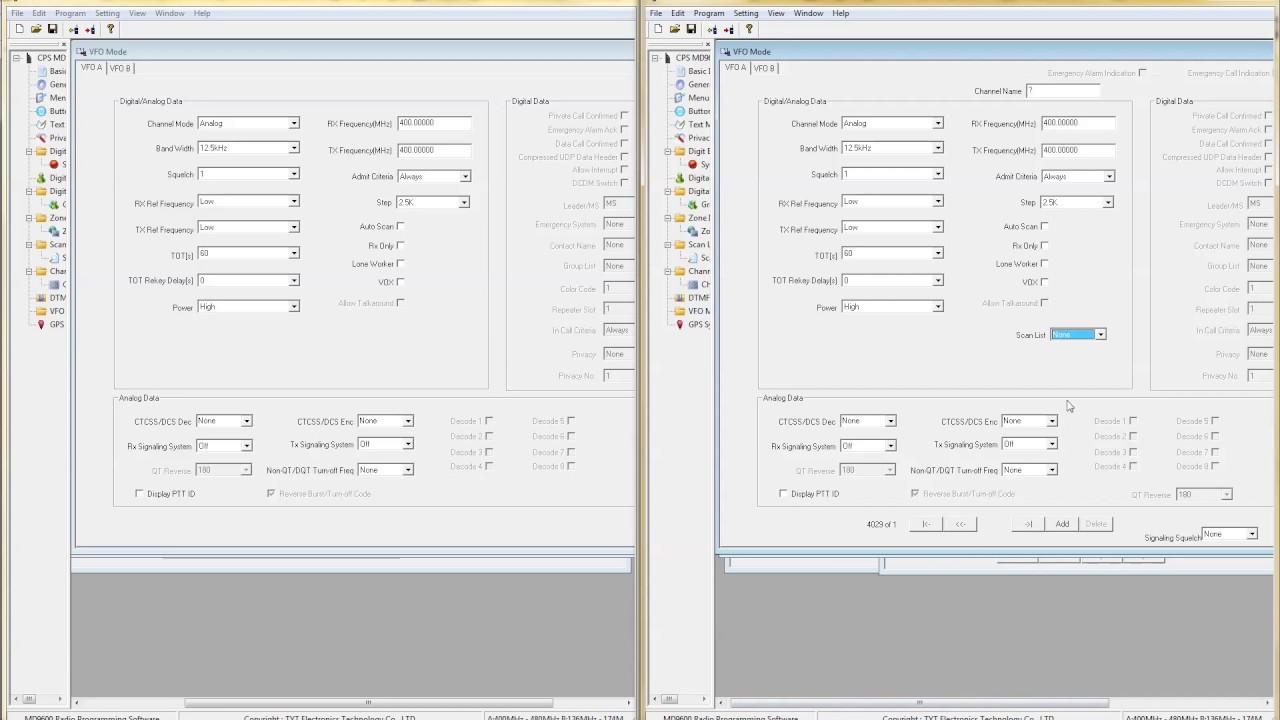 CPS TYT MD9600 Software Hack V1 22