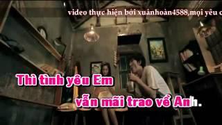 karaoke(hoadambut) XIN DUNG BO MAC EM