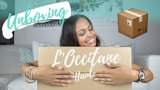 UNBOXING: L'OCCITANE HAUL 📦📬| Sous-titré FR 🇨🇭| Legendado PT 🇧🇷