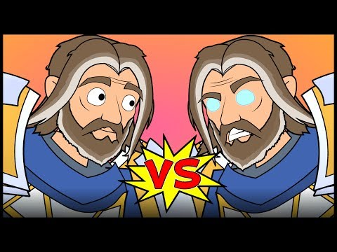 Thumbnail: UTHER v UTHER - An Animated Hearthstone Song