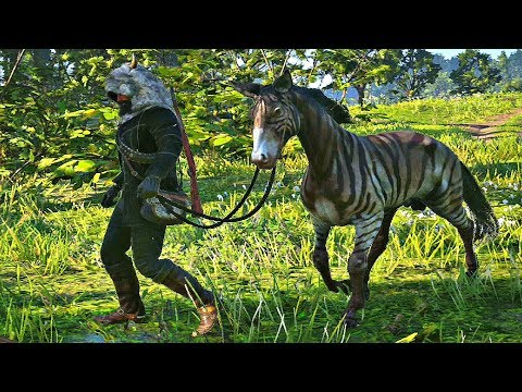 Red Dead Redemption 2 - Capturing Zebra (Margaret Mission #1)