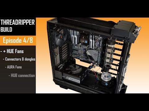 Motherboard And Fan Connectors ( The Threadripper Build 4 Of 8 )