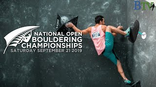 New Zealand Open Boulder Championships 2019