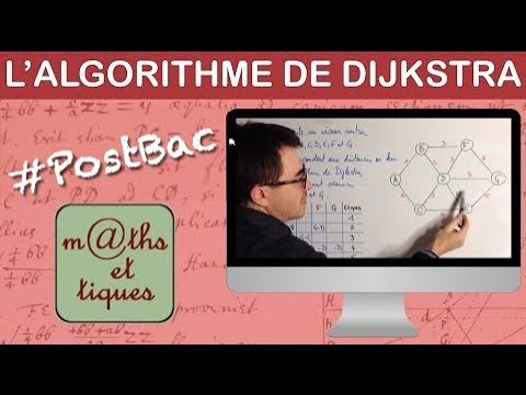 Utiliser l'algorithme de Dijkstra - Terminale - YouTube