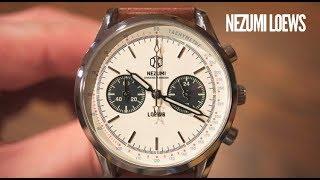 Nezumi Studios Loews Chronograph Watch Review - She