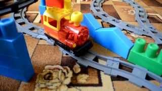 Детская железная дорога игрушечный поезд видео для детей / toy train / video for children trains(You will like it., 2015-09-26T16:15:36.000Z)