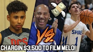 LaVar Ball CHARGING $3,500 to Film LaMelo Ball vs Julian Newman! Will He Be Eligible?