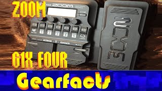 Zoom G1X FOUR unboxing and demo (direct recording)