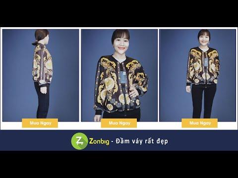Áo Khoác Vàng Họa Tiết Hoàng Gia Cực Sang- [Zonbig.com]