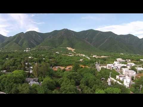 Sierra Madre oriental en Phantom 2 vision +