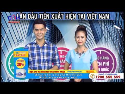 Nệm cao nhân tạo hoạt tính WEAN - comshopping.vn| kênh mua sắm truyền hình