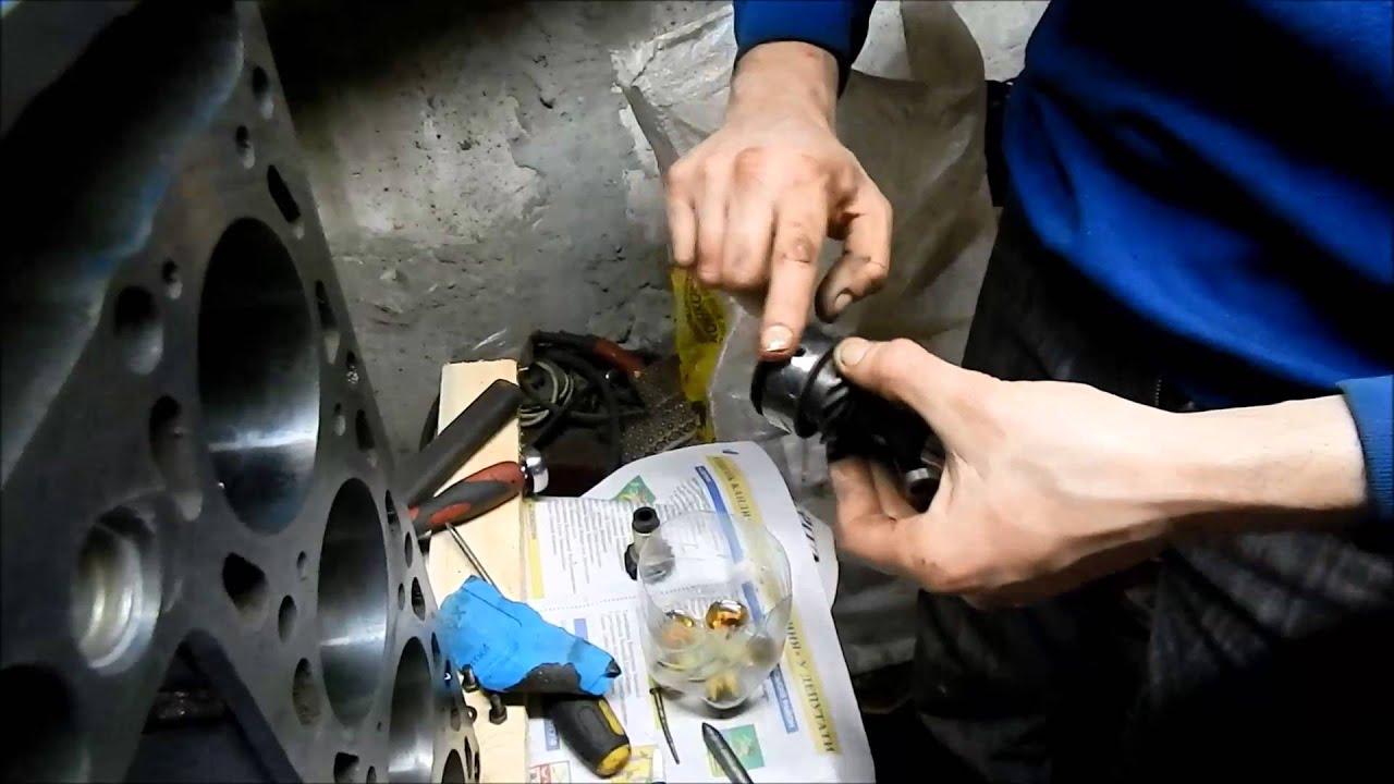 Капремонт двигателя ВАЗ-2103. Часть 5 начало сборки.