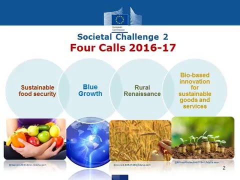 H2020 Societal Challenge 2 2016_2017 Blue Growth call