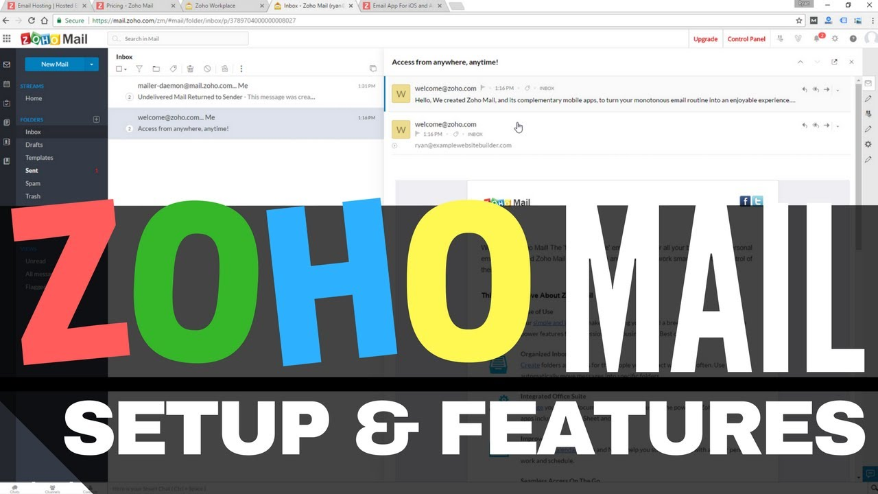 Zoho Mail vs Google G Suite (Gmail) Email - Winner is