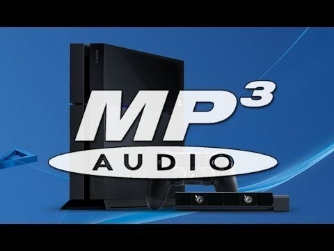 HOW TO PLAY MP3'S ON PS4! (OUTDATED!)