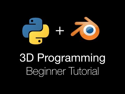 3D Programming for Beginners Using Python and Blender 2.8, Tutorial