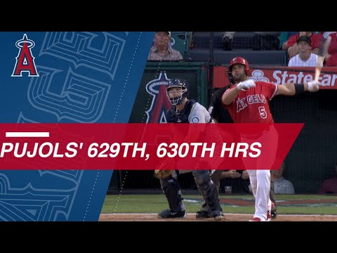 Pujols crushes home run 629 and 630