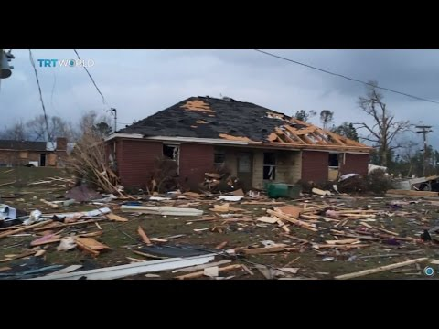 US Storms: Severe weather wreaks havoc in southern states