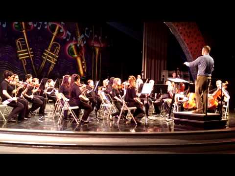 Pioneer trail middle school 7th grade orchestra