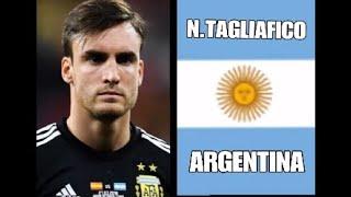 PES2018 N. TAGLIAFICO الأرجنتين اختيار إنشاء مكلفة لاعب ، وخلق وجه لاعب