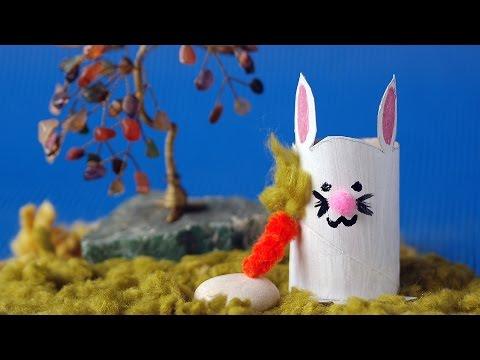 Şirinişler s 1 b 1 tuvalet kağıdı rulosundan tavşan