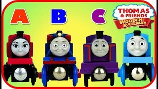 """YouTube Best learning videos for kids. Learn ABC using """"Thomas and ..."""