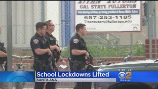 All Clear At 2 Santa Ana Schools After Reports Of Person With A Gun