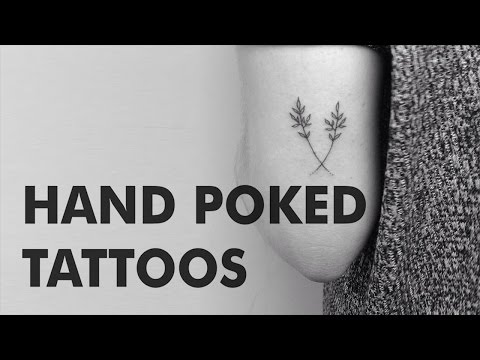 Hand Poked Tattoos