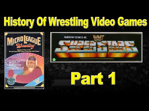 History Of Wrestling Video Games Part 1