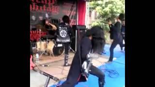 Mahkota ritualistic blackmetal live cilacap