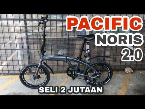 Pacific Noris 2.0 | Sepeda Lipat Pemula 2 Jutaan - YouTube