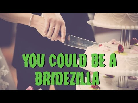 You Could Be A Bridezilla (Rihanna Parody) | Young Jeffrey's Song of the Week