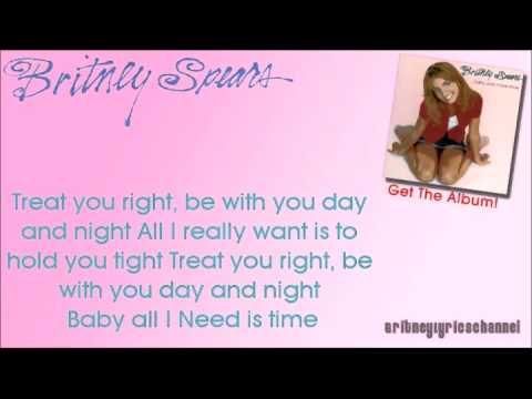 Britney Spears - Sometimes (On Screen Lyrics) - YouTube