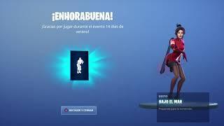 Skin Demi Dancing El Gestó Bajo El Már!!! Fortnite (Ruly)