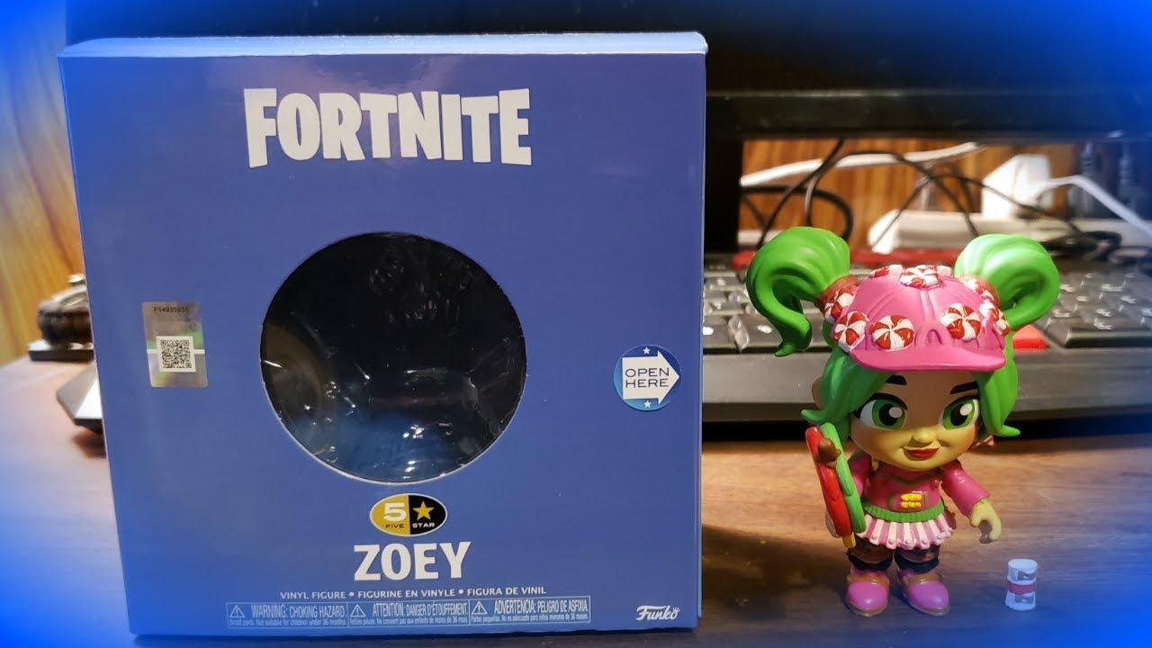 Zoey 5-Star Vinyl Figure Fortnite