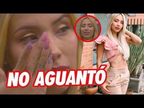 Luisa Fernanda W Llora por Primera vez a Legarda ante las Camaras esta vez no se Contuvo