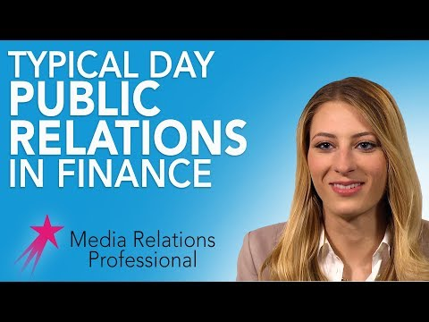 Media Relations Professional: Typical Day - Nicole Vicino Career Girls Role Model