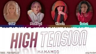 Download Mp3 MAMAMOO HIGH TENSION Lyrics