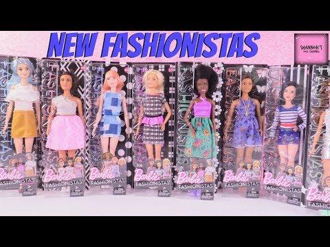 barbie-fashionistas-doll-review-unboxing-peplum-power-&-tropi-cutie-|-shannonsdollchannel