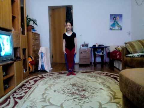 видео: Танец со скакалкой