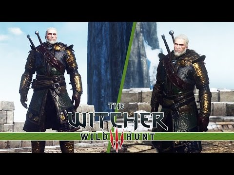 The Witcher 3 Wild Hunt - Skellige Armor Set DLC Location Guide!